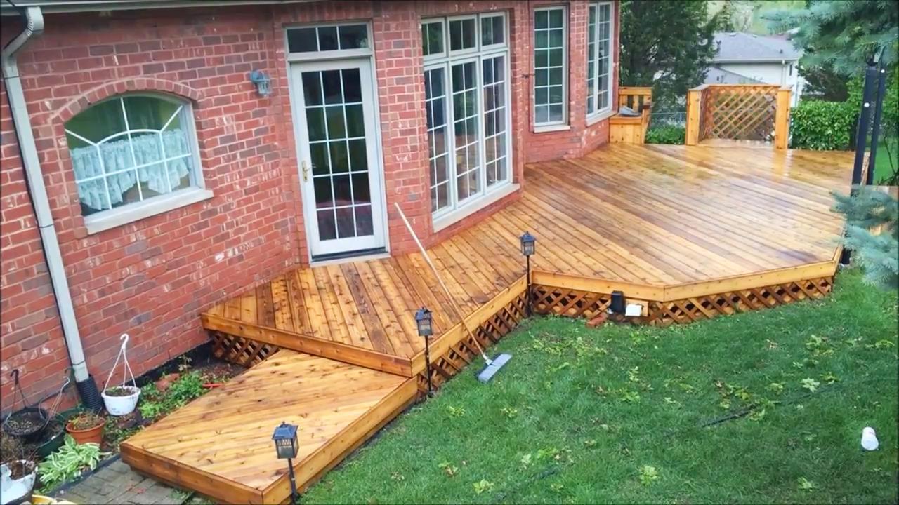 Deck Restoration O Rourke Deck Services
